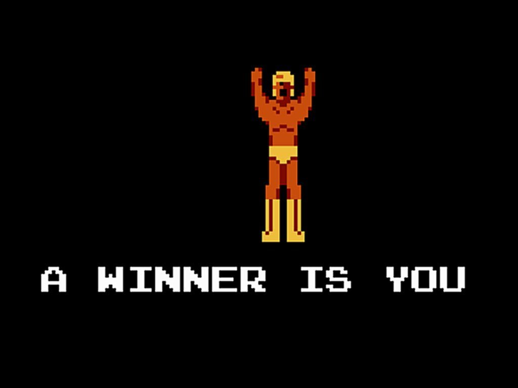 Video Game A Winner Is You