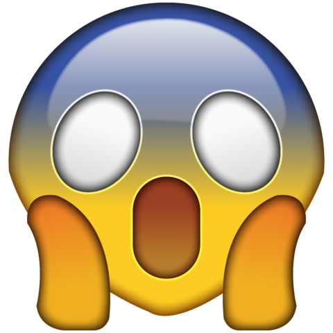OMG face emoji